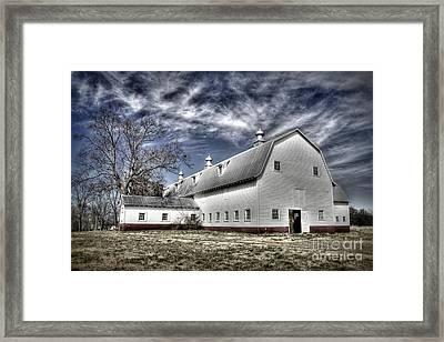 Governor Scott Dairy Farm Framed Print by Benanne Stiens