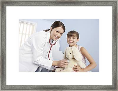Gp And Child Framed Print by Adam Gault