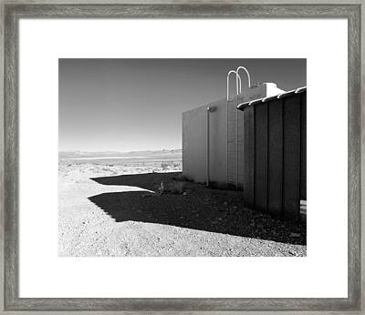 Grable Shot Pump Staion 4 Framed Print by Jan W Faul