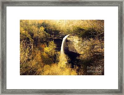 Grace Falls Framed Print