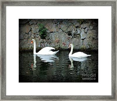 Grace In Motion Framed Print