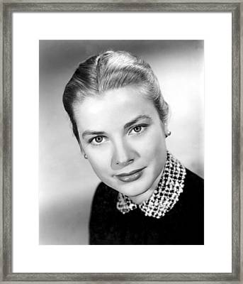 Grace Kelly, 1952 Framed Print by Everett