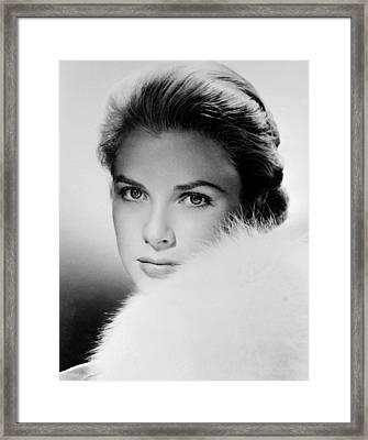 Grace Kelly, Circa 1950s Framed Print