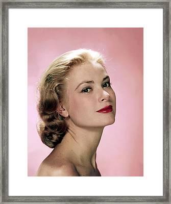 Grace Kelly Framed Print by Everett