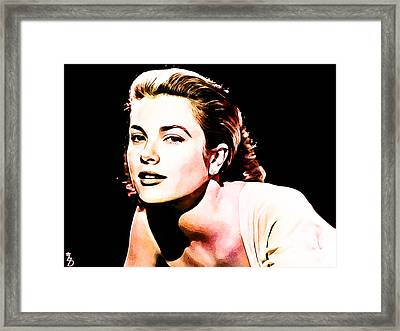 Grace Kelly Framed Print by The DigArtisT