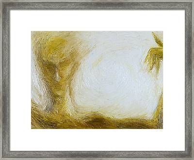 Grace Of Line Framed Print by Cahl Schroedl