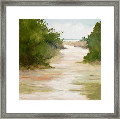 Grace Of The Sea Framed Print