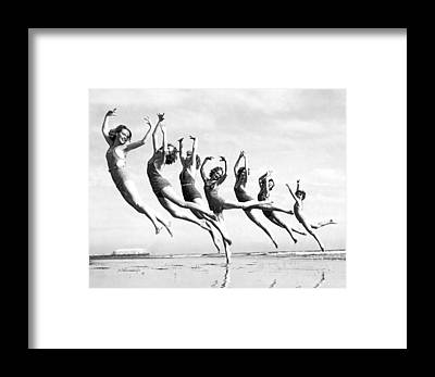 Exertion Framed Prints
