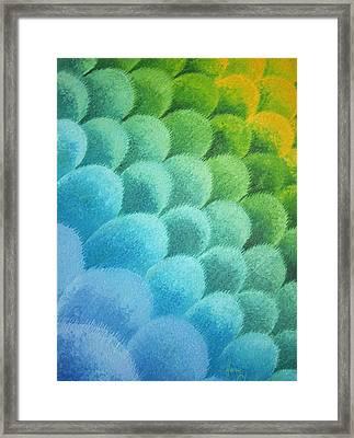 Gradation 1 Framed Print