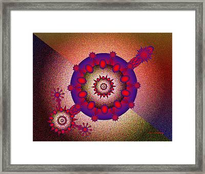Gradients Framed Print by Tim Stringer