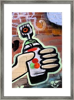Graffiti 4 Framed Print by Sophie Vigneault