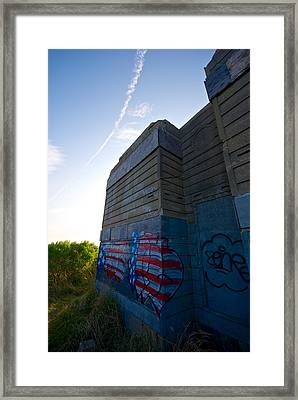Graffiti Framed Print by Mike Horvath