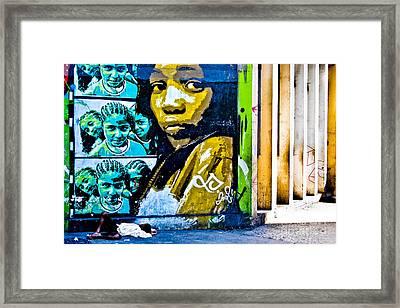 Graffiti Framed Print by Stefano  Figalo
