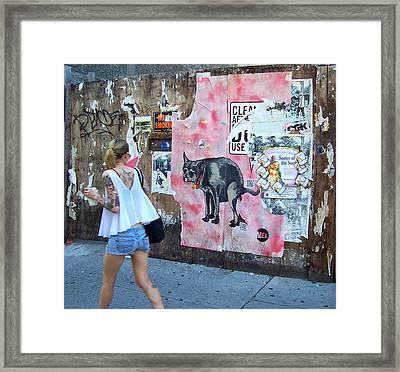 Graffiti Framed Print by Steven Huszar