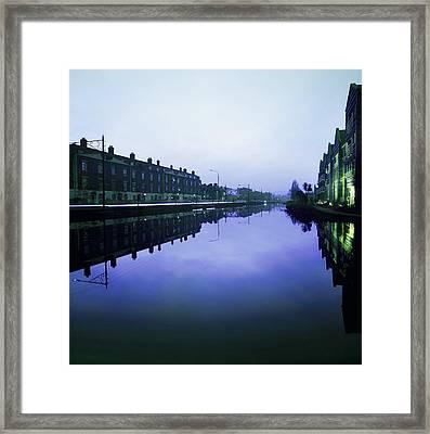 Grand Canal, Portobello, Dublin, Co Framed Print by The Irish Image Collection
