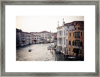 Grand Canal Framed Print by Stuart Westmorland