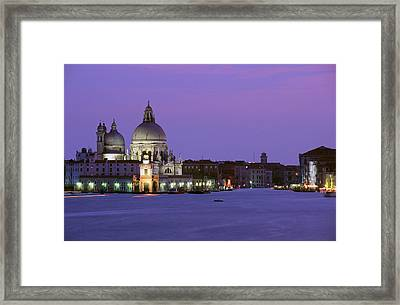 Grand Canal Venice Framed Print by Carlos Diaz