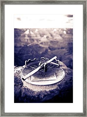 Grand Canyon - Sight Tube Framed Print by Scott Sawyer