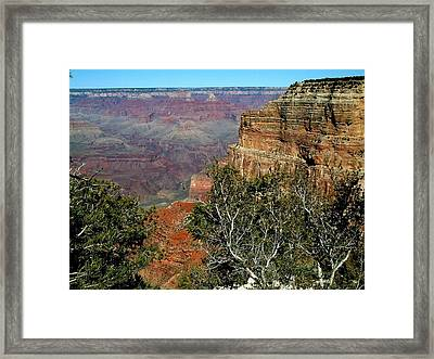 Grand Canyon Aa Framed Print by Dottie Gillespie