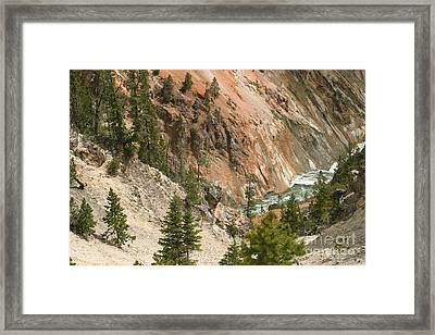 Framed Print featuring the photograph Grand Canyon And Yellowstone River by Living Color Photography Lorraine Lynch