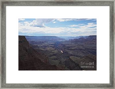 Grand Canyon As Seen From Lipan Point Framed Print