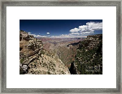 Grand Canyon As Seen From Pipe Creek Framed Print