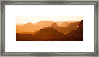 Grand Canyon At Dusk Framed Print by C Thomas Willard