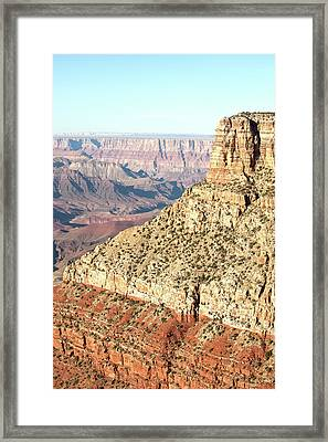 Grand Canyon At Sunset Framed Print by William Andrew