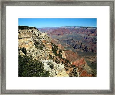 Grand Canyon B Framed Print by Dottie Gillespie