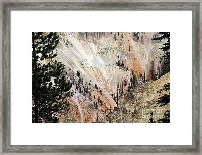 Framed Print featuring the photograph Grand Canyon Colors Of Yellowstone by Living Color Photography Lorraine Lynch