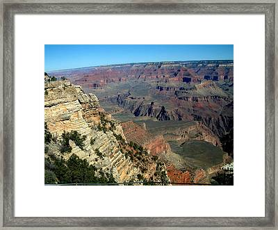 Grand Canyon Framed Print by Dottie Gillespie