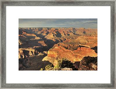 Grand Canyon From Hopi Point Framed Print by A. V. Ley
