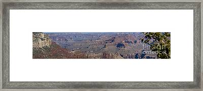 Grand Canyon From South Rim Framed Print by Tim Mulina