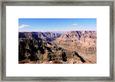 Framed Print featuring the photograph Grand Canyon by Lynn Bolt