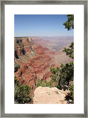 Grand Canyon National Parc Usa  Framed Print by Audrey Campion