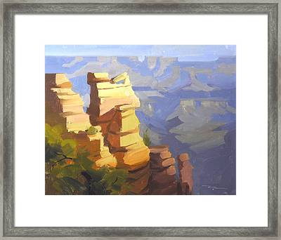 Grand Canyon Framed Print by Richard Robinson