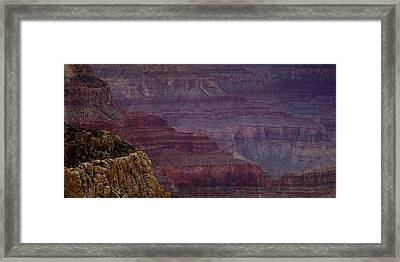 Grand Canyon Ridges Framed Print
