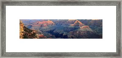Grand Canyon Sunrise Panorama Framed Print