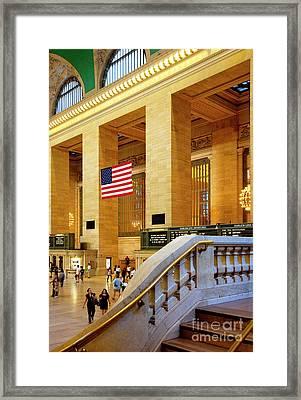 Grand Central Framed Print by Brian Jannsen