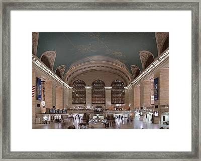 Grand Central Station The Main Framed Print by Everett