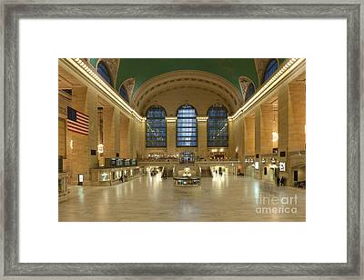 Grand Central Terminal I Framed Print by Clarence Holmes
