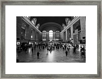 Grand Central Terminal Framed Print