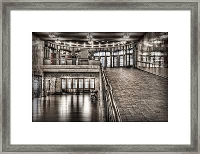 Grand Central Terminal Framed Print by Nicholas Palmieri