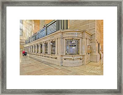 Grand Central Terminal Framed Print by Susan Candelario