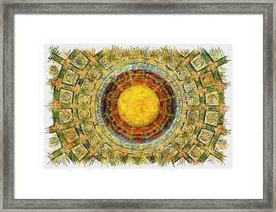 Grand China - Pencil Framed Print