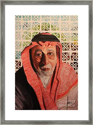Grand Father Framed Print by Betul Salman