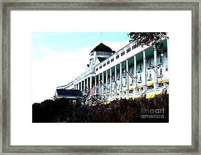 Grand Hotel Mackinac Island Framed Print