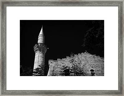 grand mosque of djami kebir camil Limassol lemesos republic of cyprus europe Framed Print