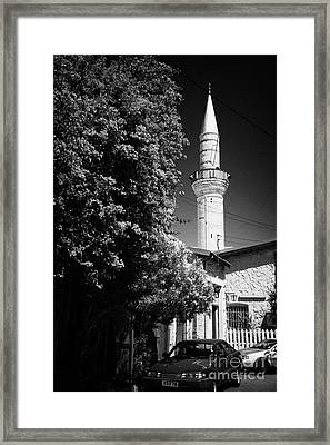 grand mosque of djami kebir camil Limassol lemesos republic of cyprus Framed Print