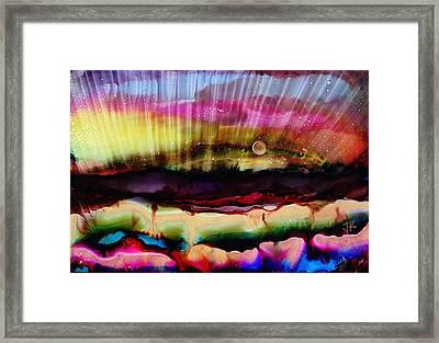 Grand New Morning Framed Print